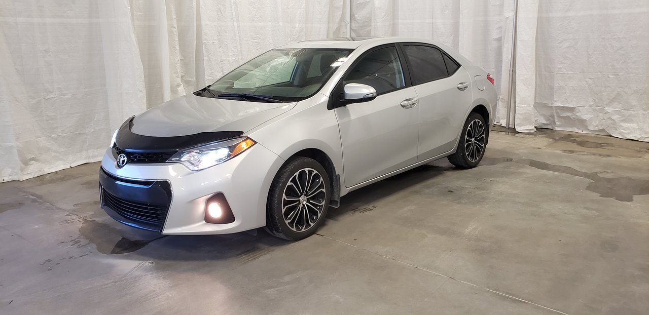 2016 Toyota  Corolla S ** TOIT***MAGS***CUIR***