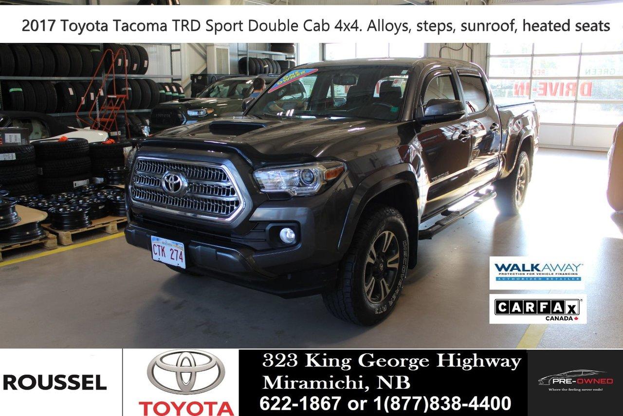 2017 Toyota Tacoma TRD Sport V6 Double Cab LB 4WD