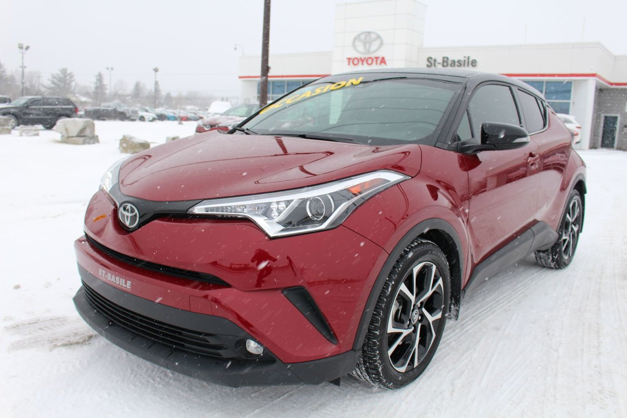 2019 Toyota  C-HR LIMITED CUIR MAGS SIEGES CHAUFFANTS BLUETOOTH