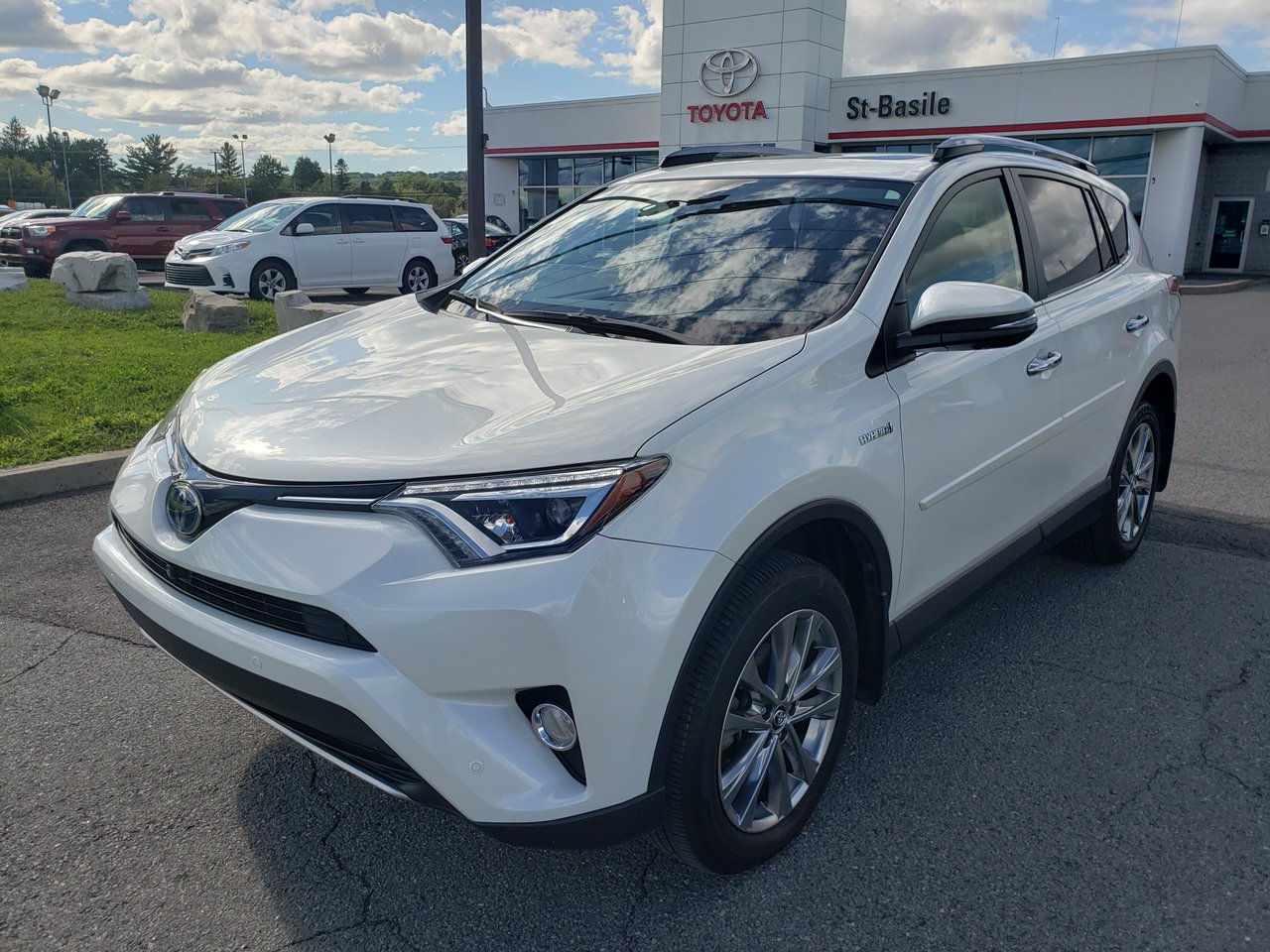 2018 Toyota  RAV4 LIMITED AWD GPS CUIR TOIT OUVRANT CAMERA