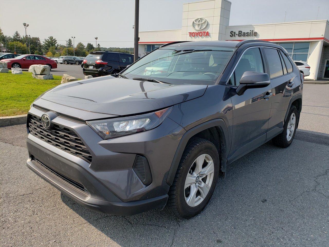 2019 Toyota  RAV4 LE AWD BLUETOOTH CAMERA RECUL SIEGES CHAUFFAN
