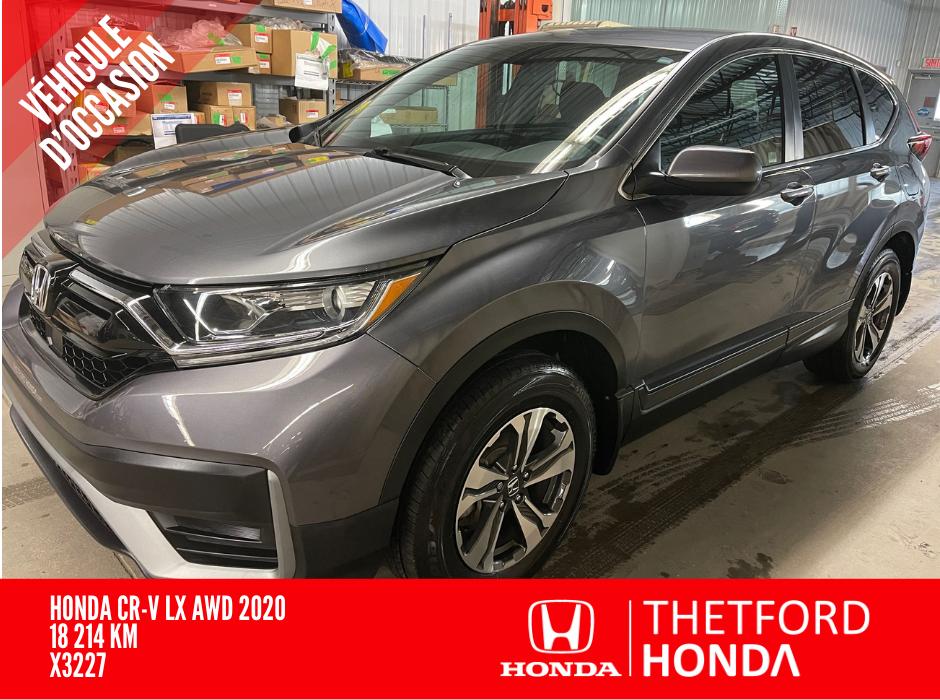Honda CR-V 2020 LX AWD **BAS KILOMETRAGE ** GARANTIE COMPLETE