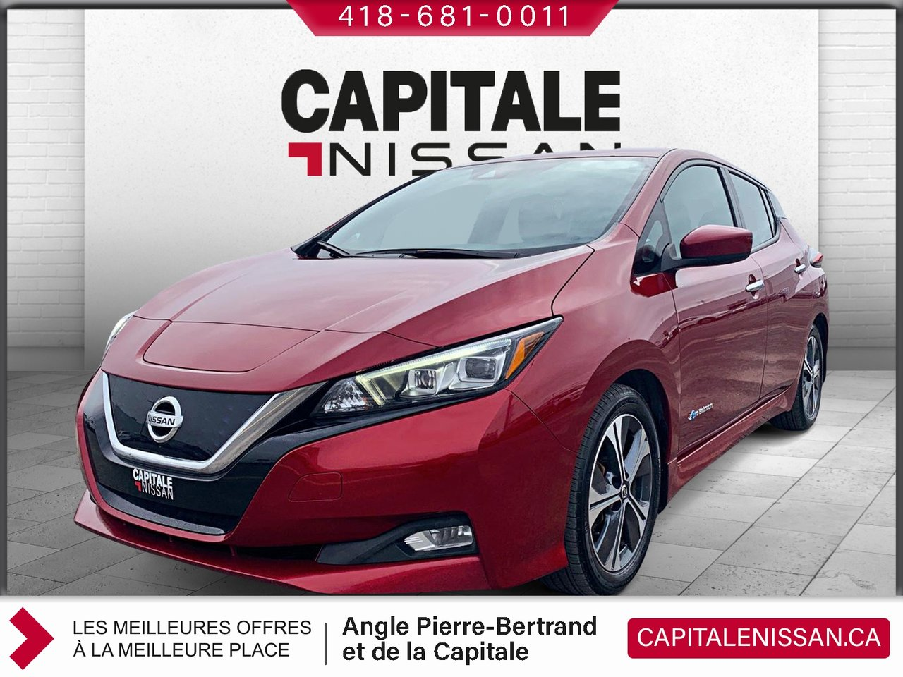 Nissan LEAF 2018 SV ***45 200 KM***