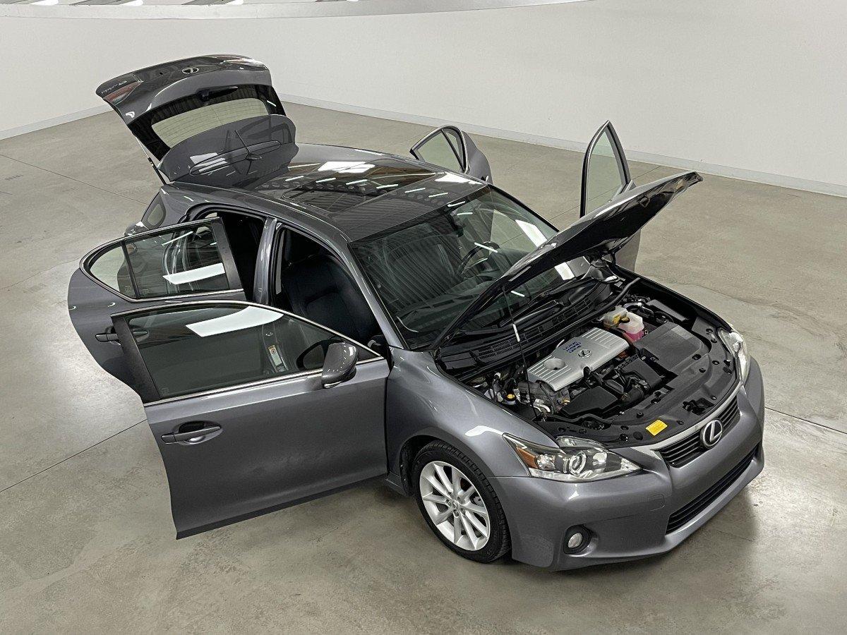 Lexus CT 2012 CUIR TOIT