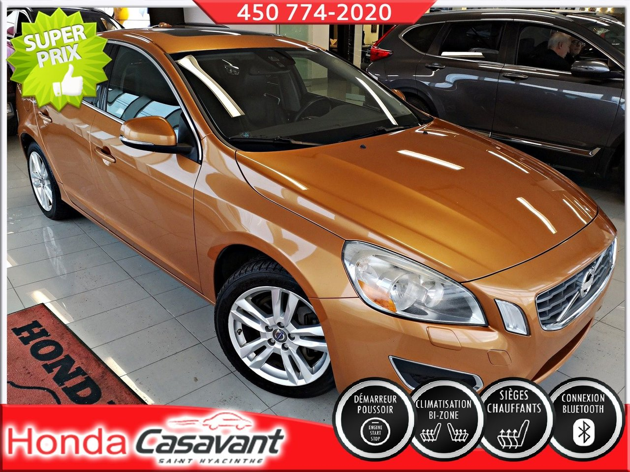 2011 Volvo  S60 T6 AWD + TOIT OUVRANT + CUIR