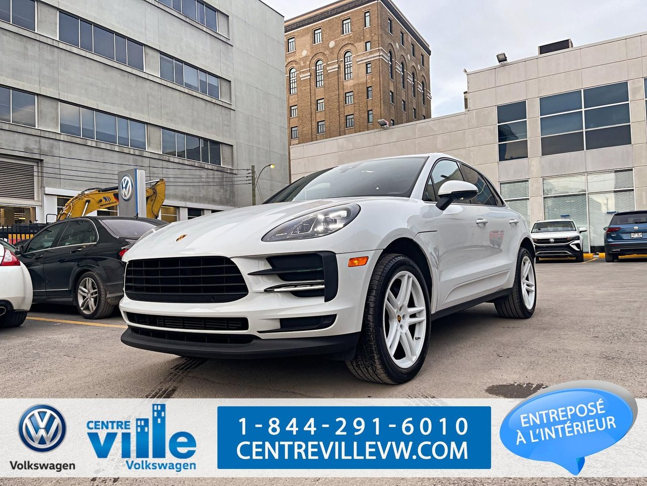 Porsche Macan 2021 PREMIUM-PACK+++HIGHLY-OPTIONED-LIKE-NEW