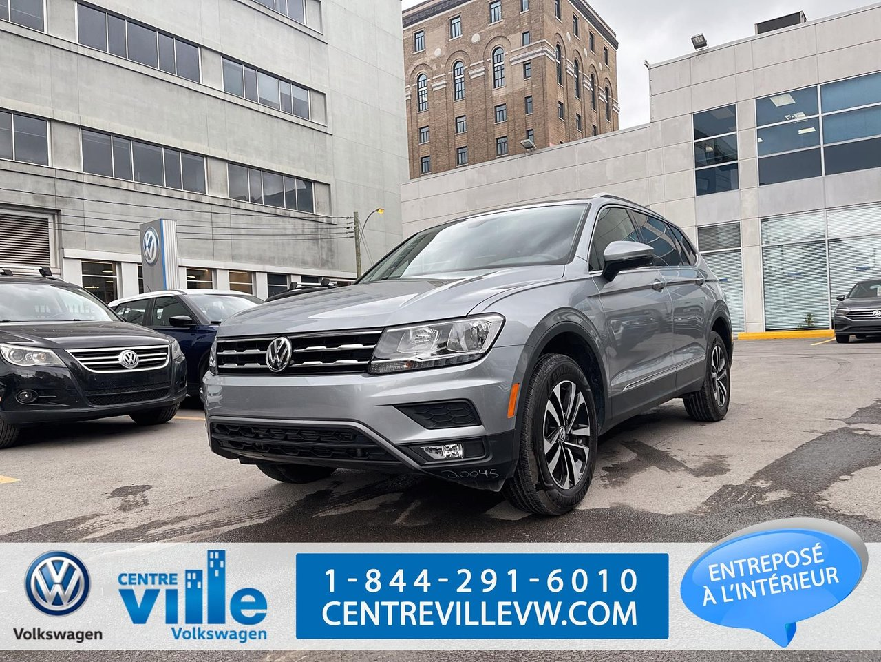 Volkswagen Tiguan 2020 IQ-DRIVE+TOIT-PANO+APP-CONNECT+CUIR+KESSY+++