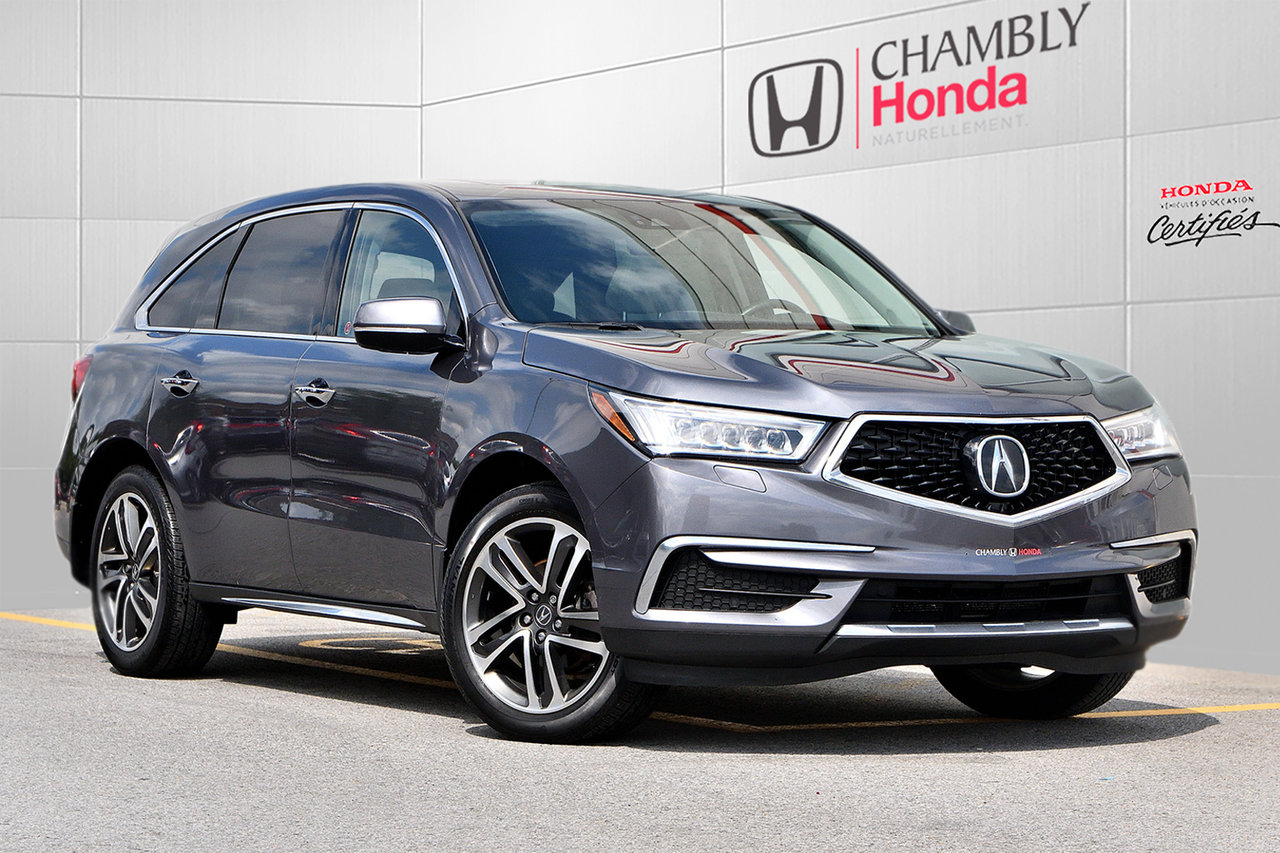 2017 Acura  MDX NAVIGATION PACKAGE*CUIR*TOIT
