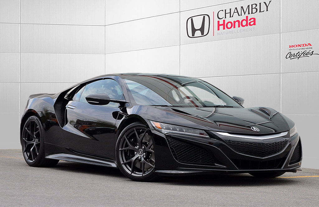 2017 Acura  NSX OVER 15 000$ IN OPTIONS!