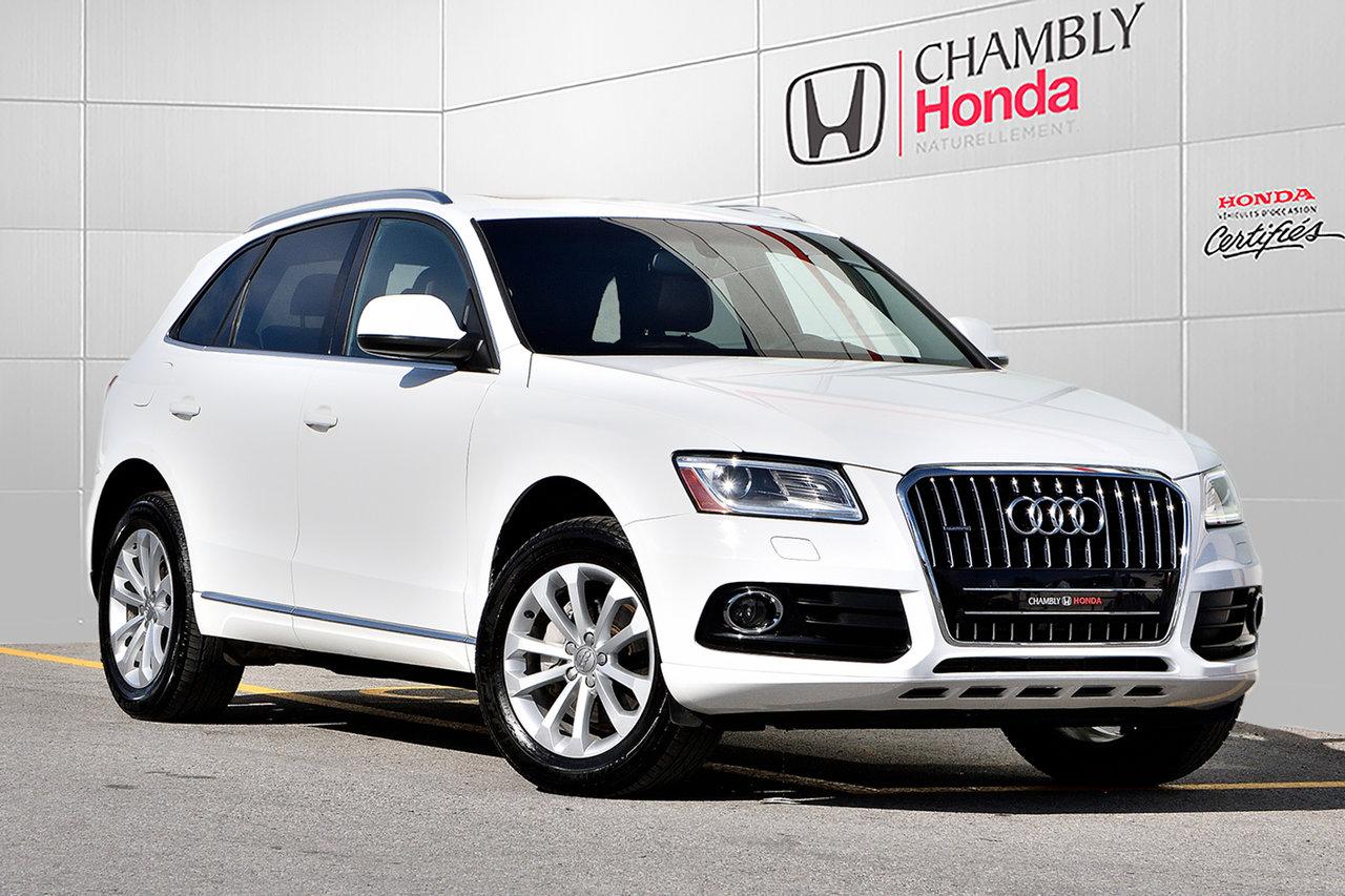 2013 Audi  Q5 2.0L *PREMIUM*QUATTRO*CUIR*TOIT*