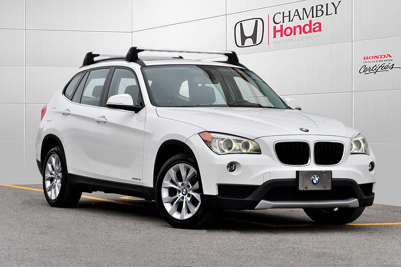 2014 BMW  X1 XDrive28i*NAV*CUIR*TOIT PANO*