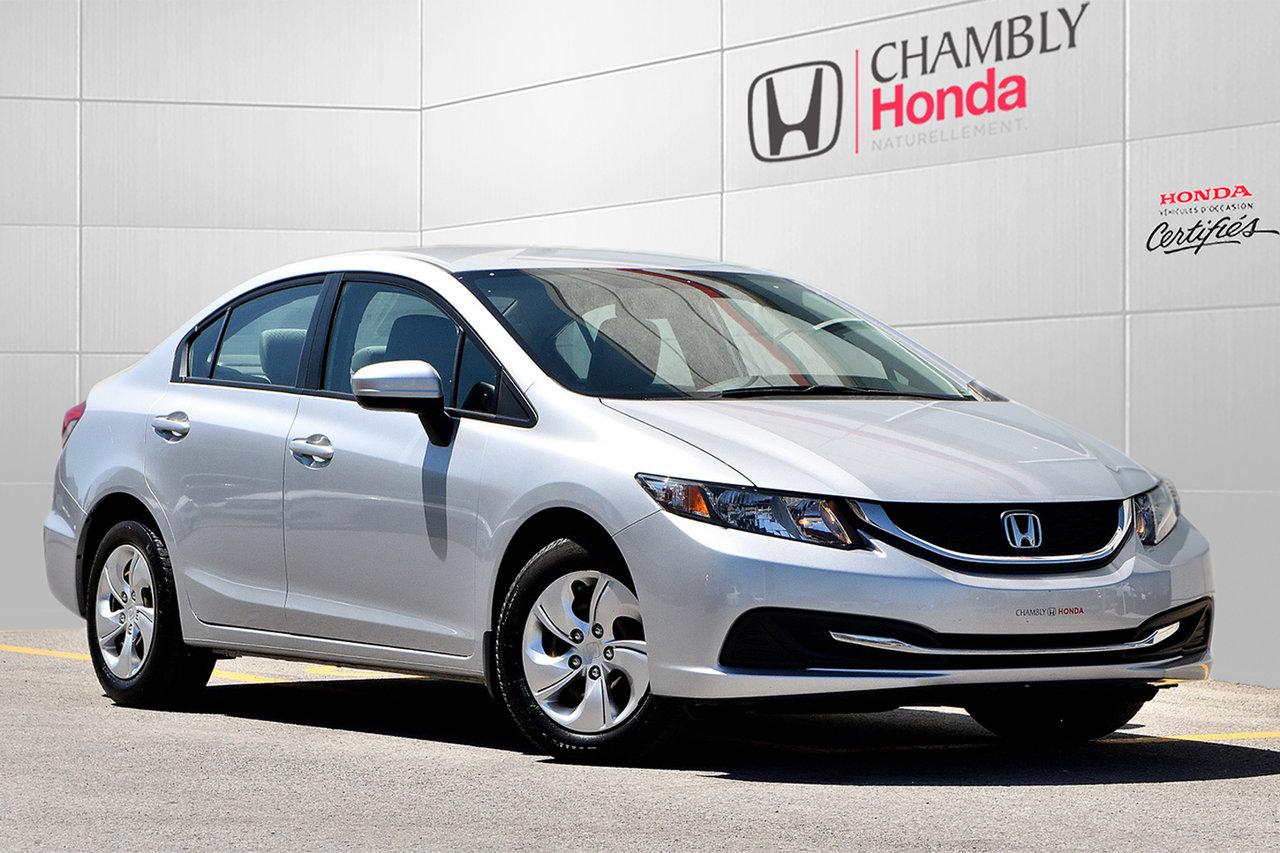 2015 Honda  Civic Sedan *LX*AUTO*CAMERA RECUL