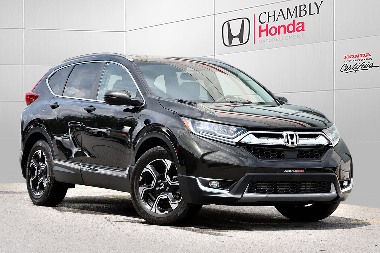 2017 Honda  CR-V TOURING*AWD*CUIR*NAV*TOIT*CAMERAS*BLUETOOTH