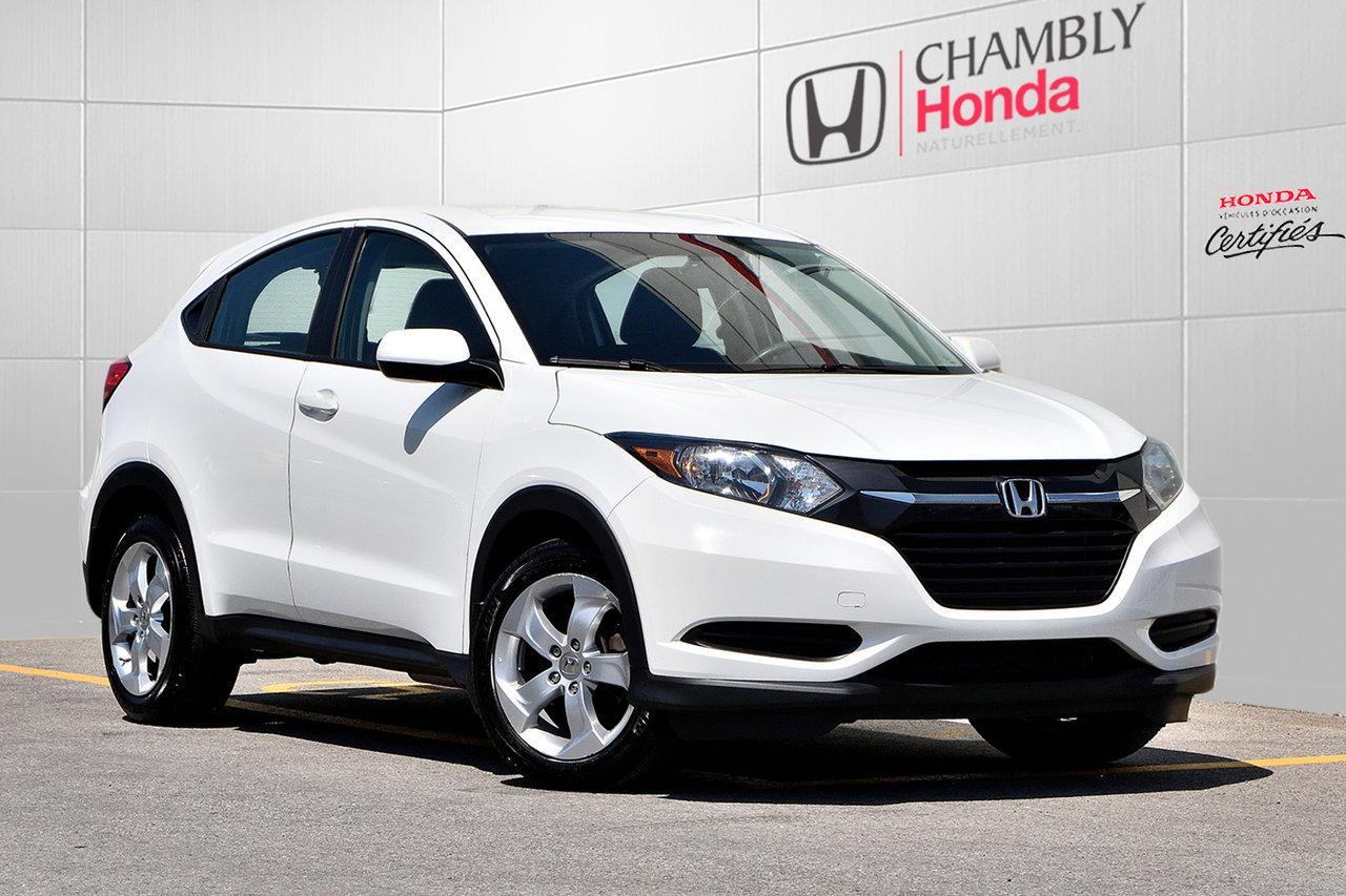2016 Honda  HR-V *LX*AWD*CAMERA RECUL*
