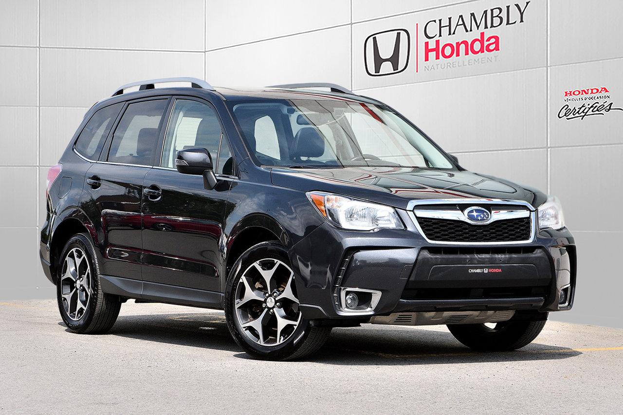 2016 Subaru  Forester XT LIMITED*CUIR*NAV*TOIT PANO*CAMERA