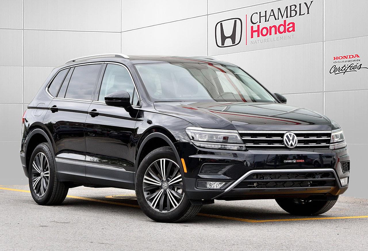 2019 Volkswagen  Tiguan HIGHLINE*CUIR*NAV*CAMERA