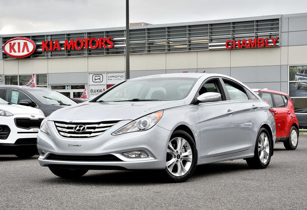 2011 Hyundai  Sonata LIMITED! CUIR+TOIT OUVRANT+MAGS!