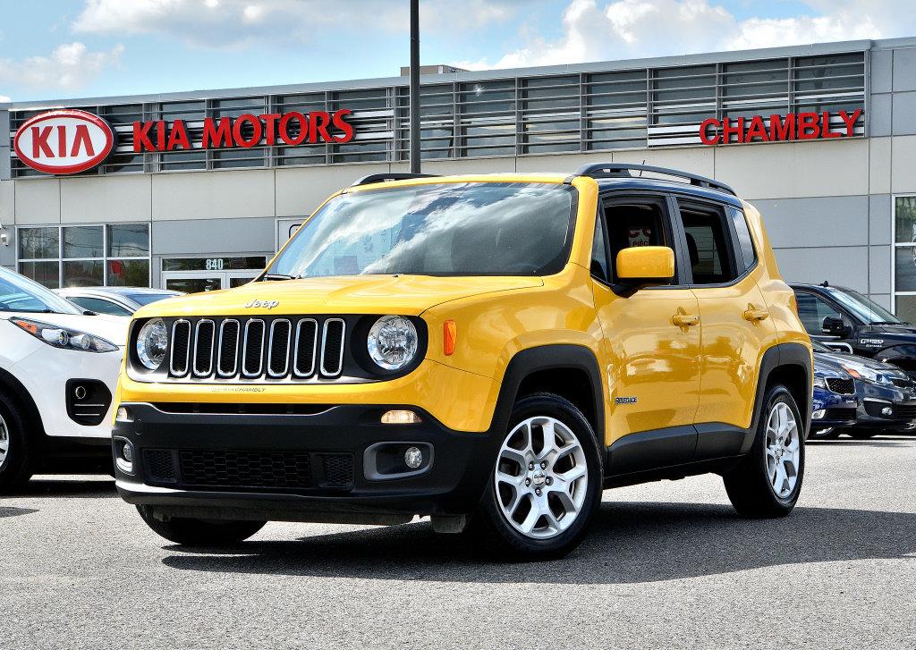 2015 Jeep  Renegade NORTH EDITION! SOLAR YELLOW!!