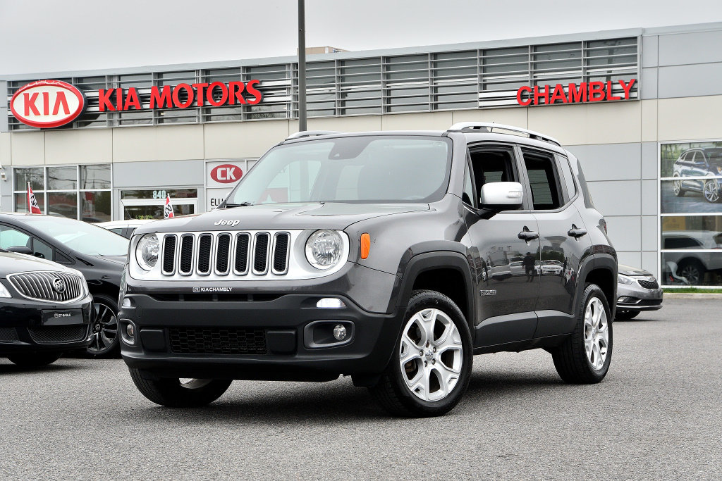 2016 Jeep  Renegade Limited **TOIT OUVRANT**RADIO BEATS**4x4**