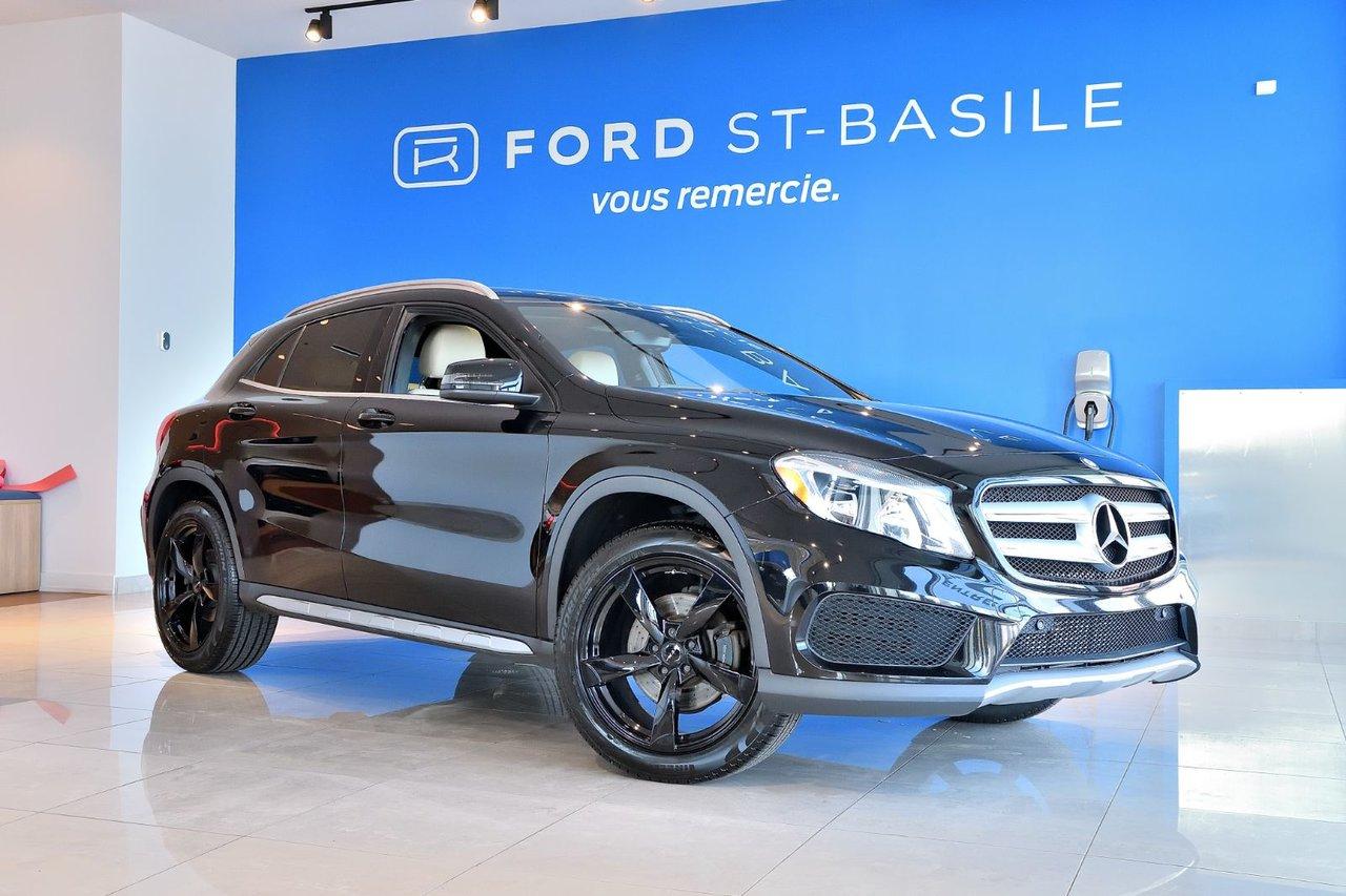 2016 Mercedes-Benz  GLA GLA 250+TOIT+SPORT PACK+GPS+AMG STYLE PACK+PR
