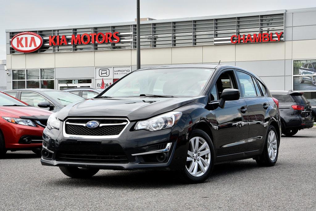 2015 Subaru  Impreza 2.0L TOURING PACKAGE AWD!