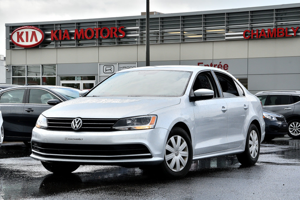 2016 Volkswagen  Jetta Sedan TRENDLINE+ANDROID AUTO/APPLE CARPLAY+CRUISE