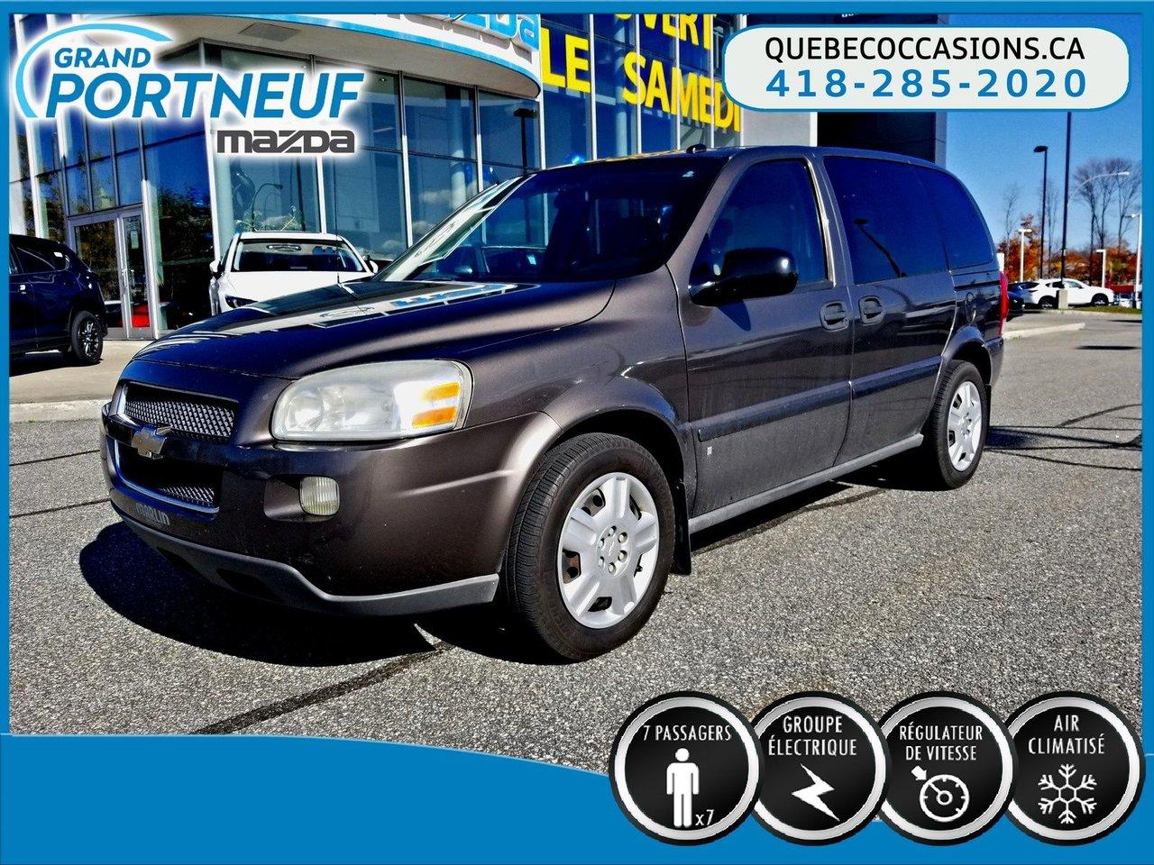 2009 Chevrolet  Uplander LS - GROUPE ÉLECTRIQUE - A/C - CRUISE