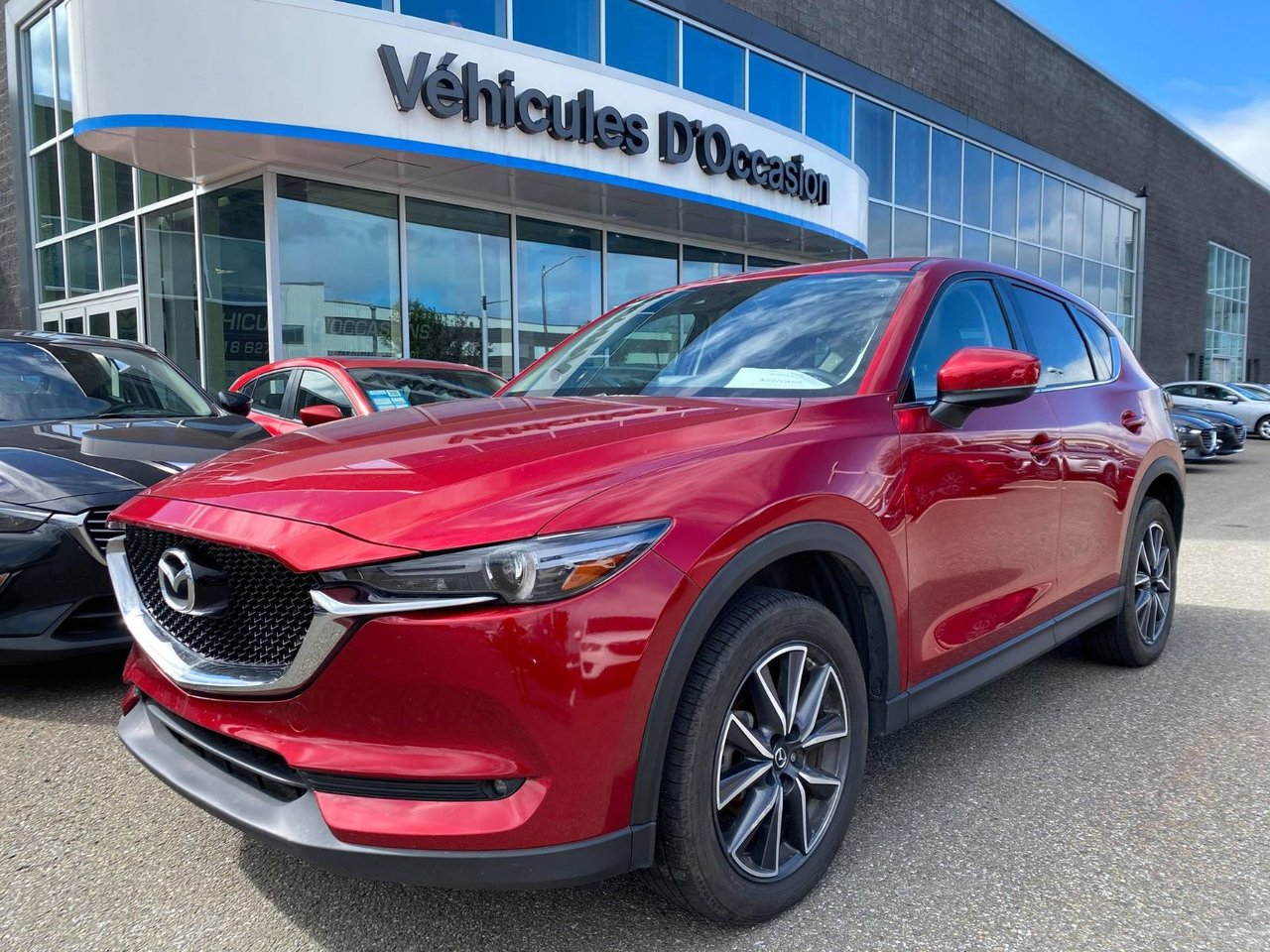 2017 Mazda  CX-5 GT AWD - CUIR - BOSE - GPS - TOIT OUVRANT - A