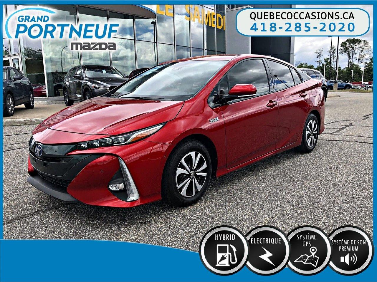 2018 Toyota  PRIUS PRIME UPGRADE - GPS - CUIR - CAMERA