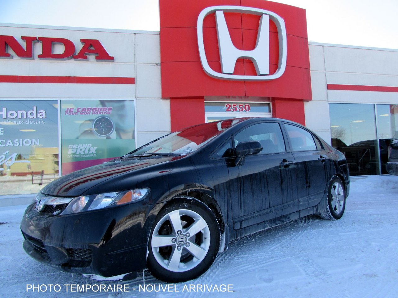 Honda civic sedan 2011 d 39 occasion vendre chez for Porte et fenetre verdun st basile