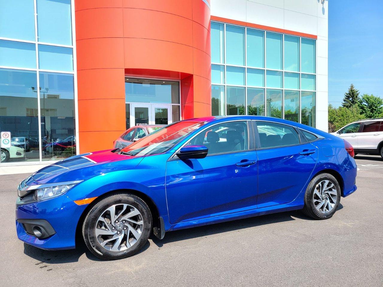 2018 Honda  Civic Sedan SE DEMARREUR MAGS AILERON