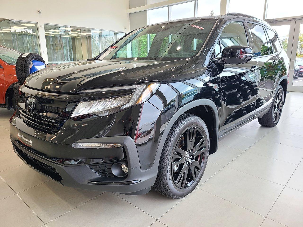 Honda Pilot 2020 Black Edition Comme neuf! Bas KM Tout équipé