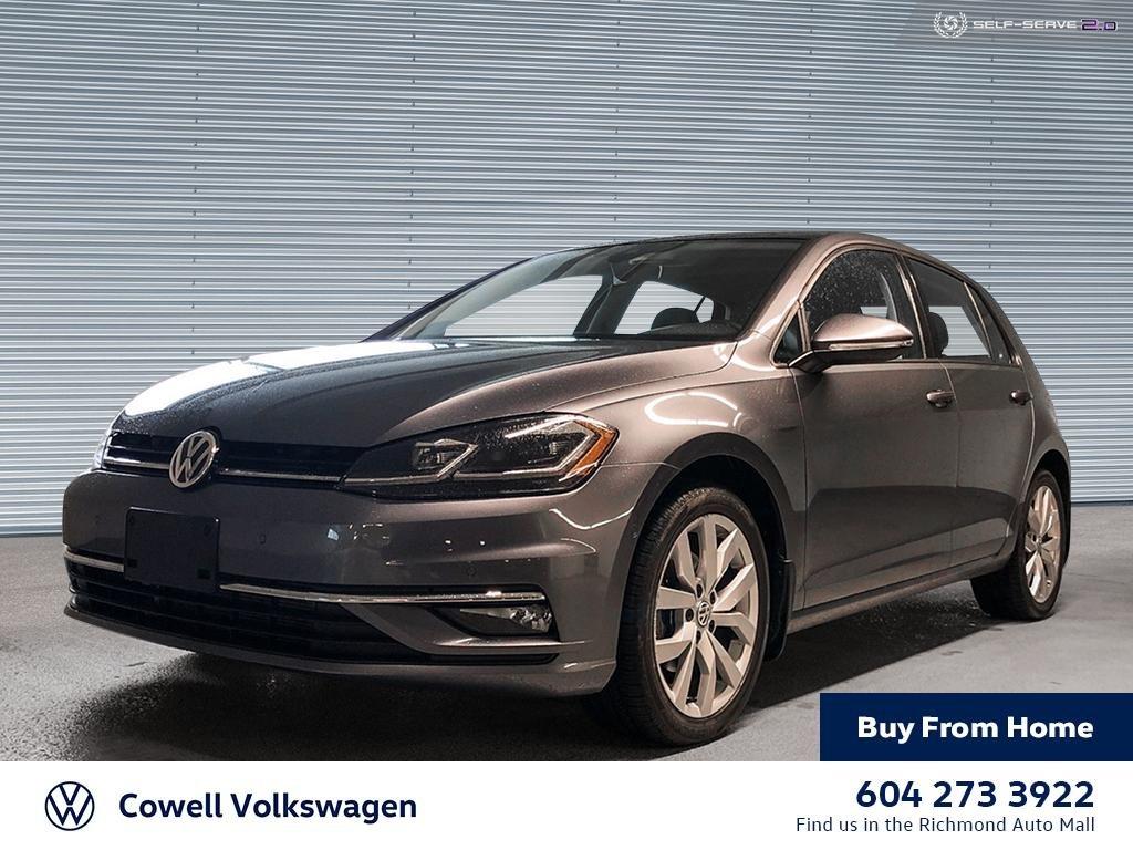 2018 Volkswagen Golf 1.8T Highline 4-Door FWD