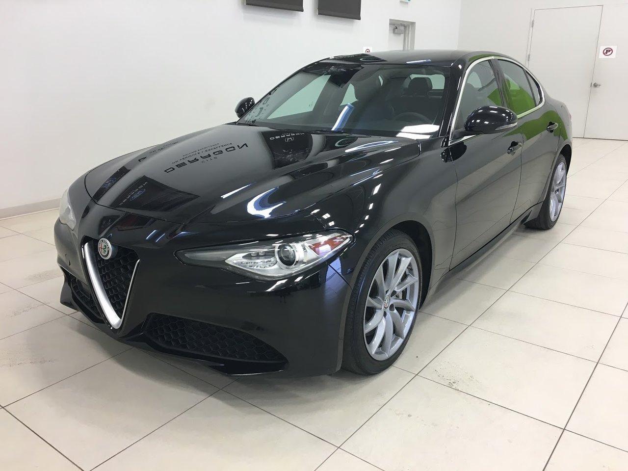 2017 Alfa romeo  GIULIA Q4 AWD, NAV, ÉCRAN 8, WINTER PACK, DÉMARREUR