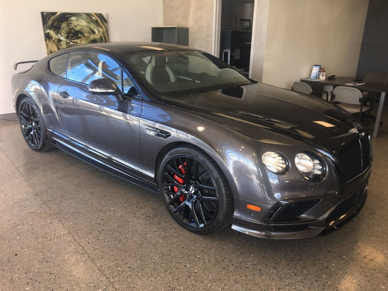 2017 Bentley  Continental SUPERSPORTS AWD 700HP CARBONE W12 TWIN TURBO