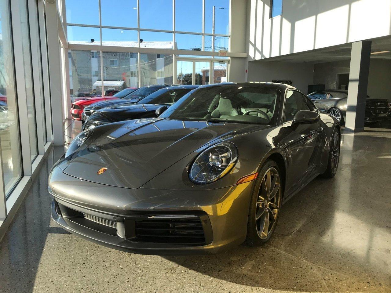 2020 Porsche  911 S CHRONO PDK 21'' SPORT EXHAUST REAR DIRECTIO