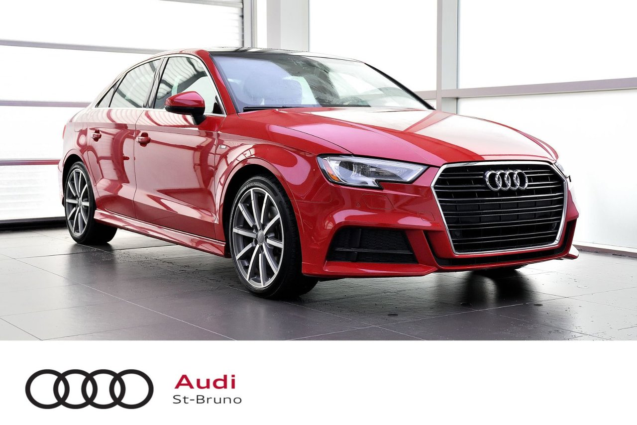 Audi A3 2018 PROGRESSIV + S-LINE + PREMIUM PACK