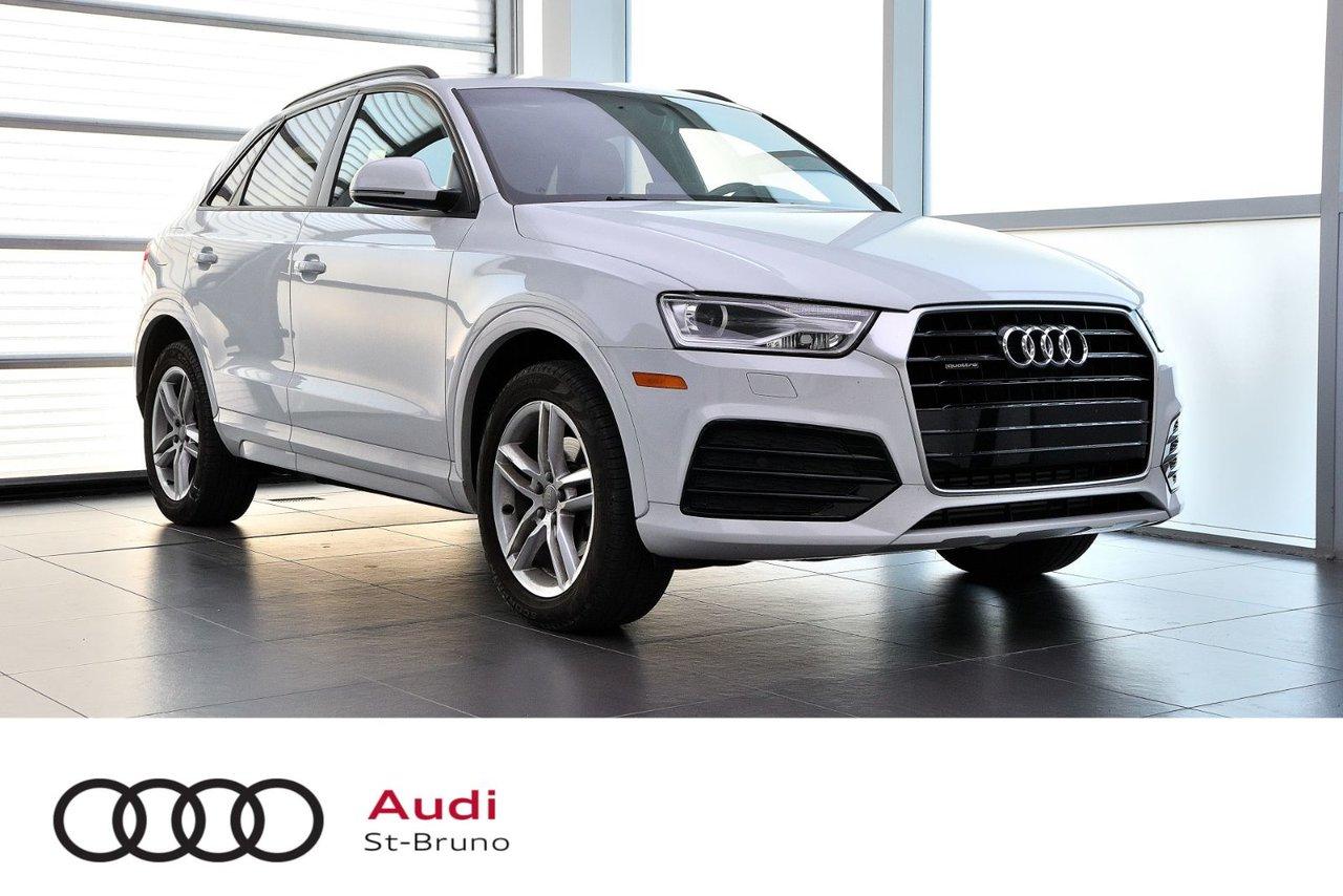Audi Q3 2018 KOMFORT + GPS + CAMÉRA + QUATTRO