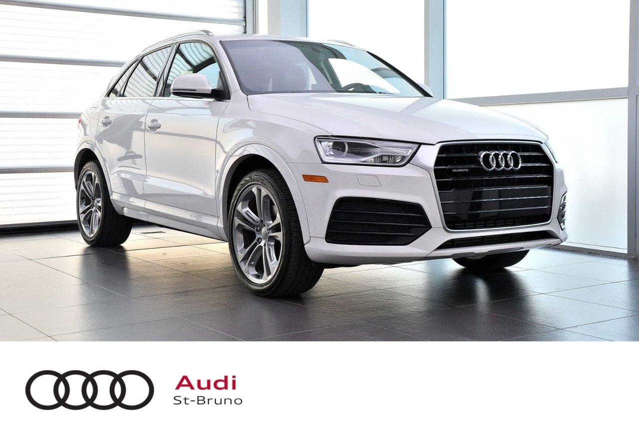 Audi Q3 2018 PROGRESSIV + CAMÉRA + TOIT PANO + QUATTRO