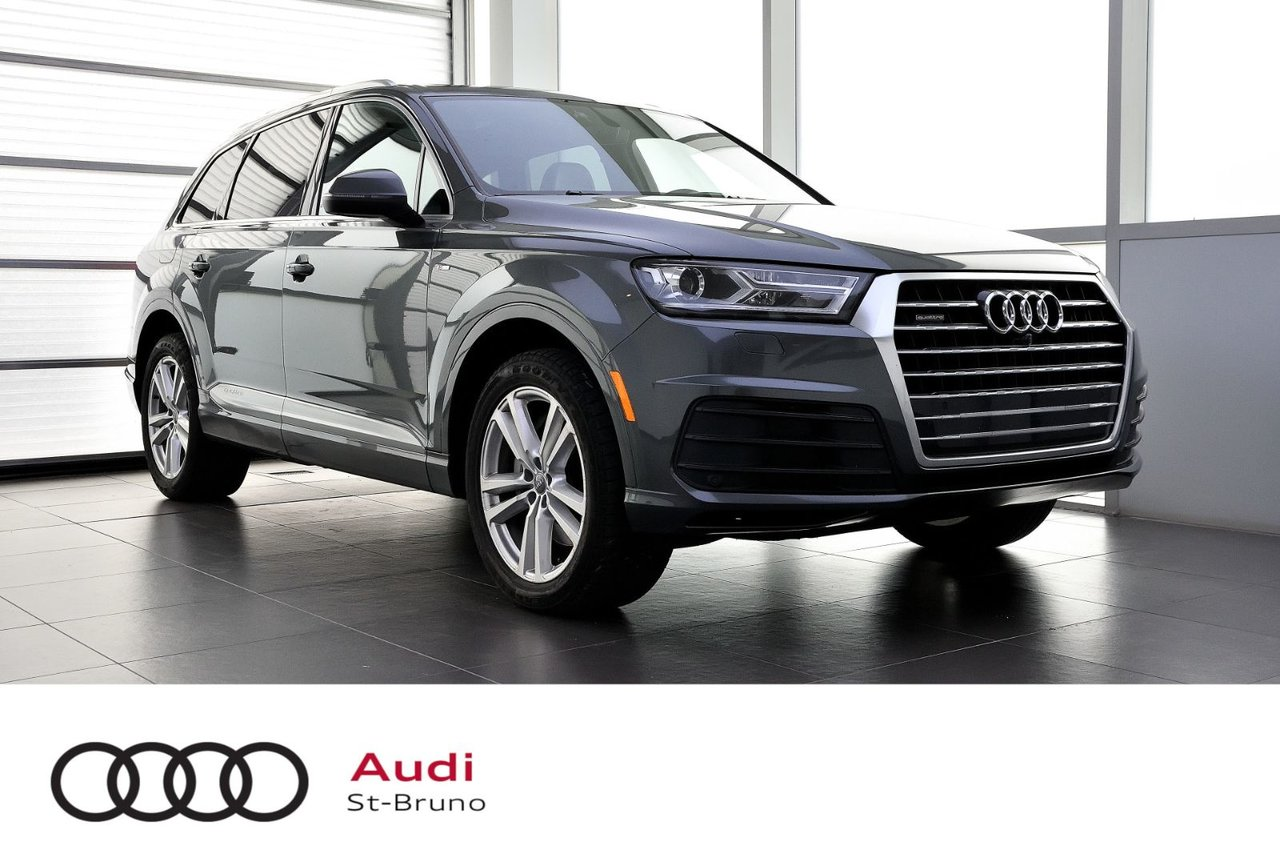 Audi Q7 2017 PROGRESSIV + S-LINE + ENS.REMORQUAGE
