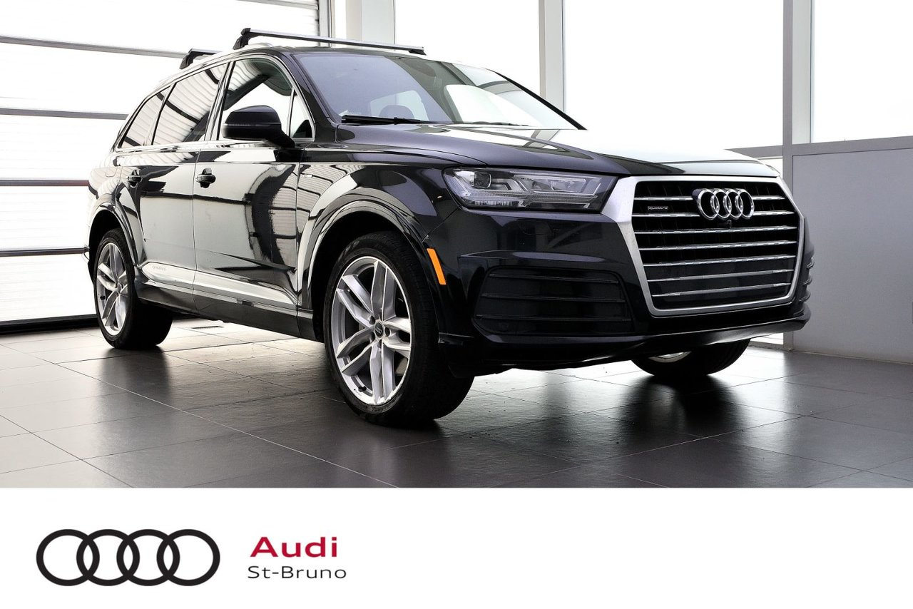 Audi Q7 2018 TECHNIK + DRIVER ASSIST + S-LINE