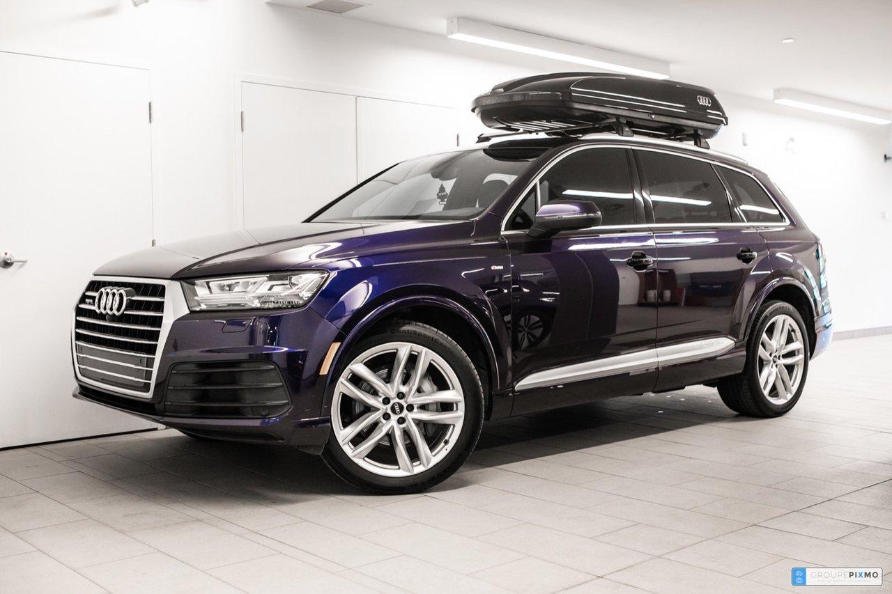 Audi Q7 2018 PROGRESSIV * S-LINE * TOIT OUVRANT PANORAMIQU