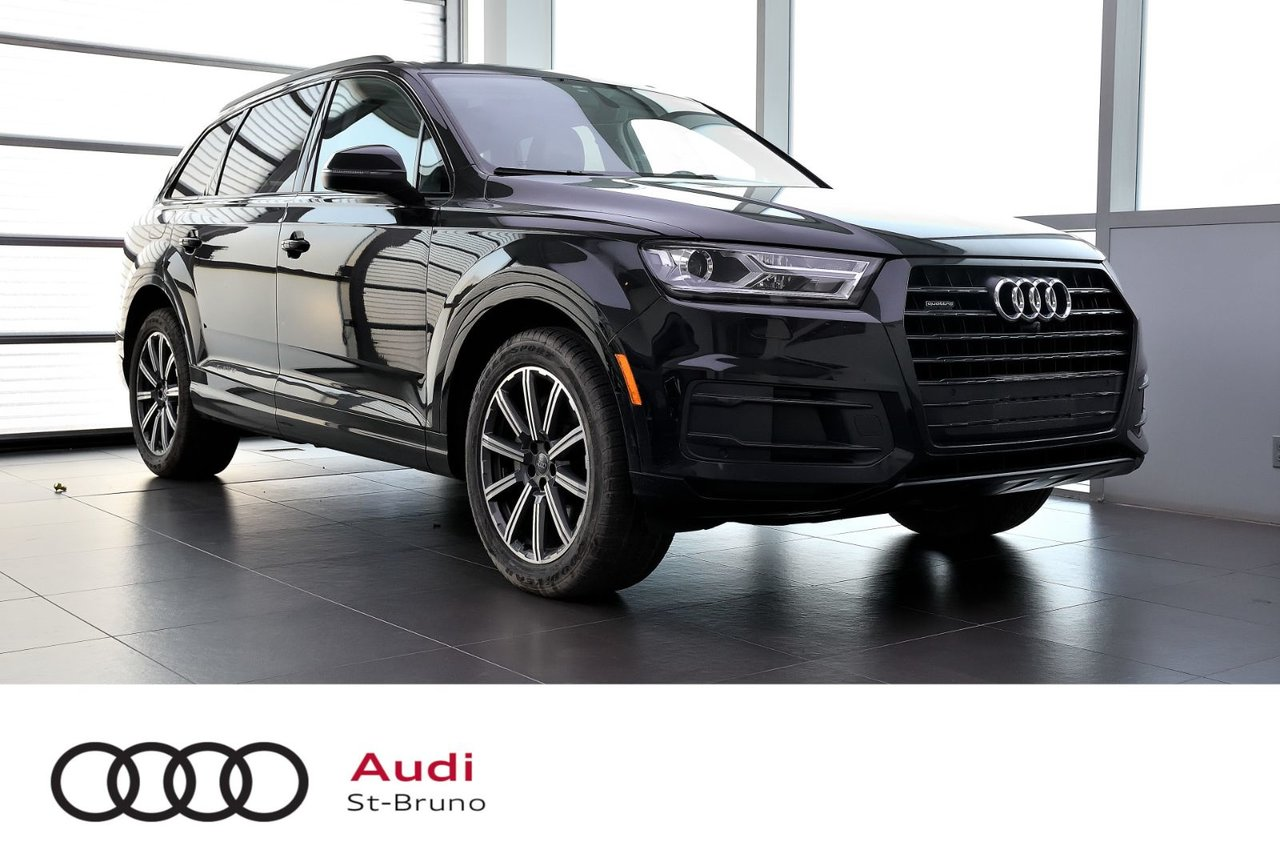 Audi Q7 2018 PROGRESSIV + BLACK OPTICS + 20 POUCES