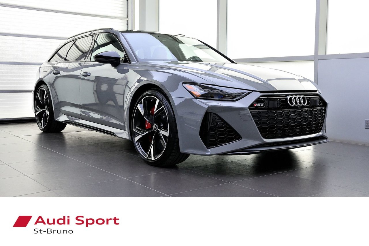 Audi RS6 2021 **VENDU MERCI SOLD**