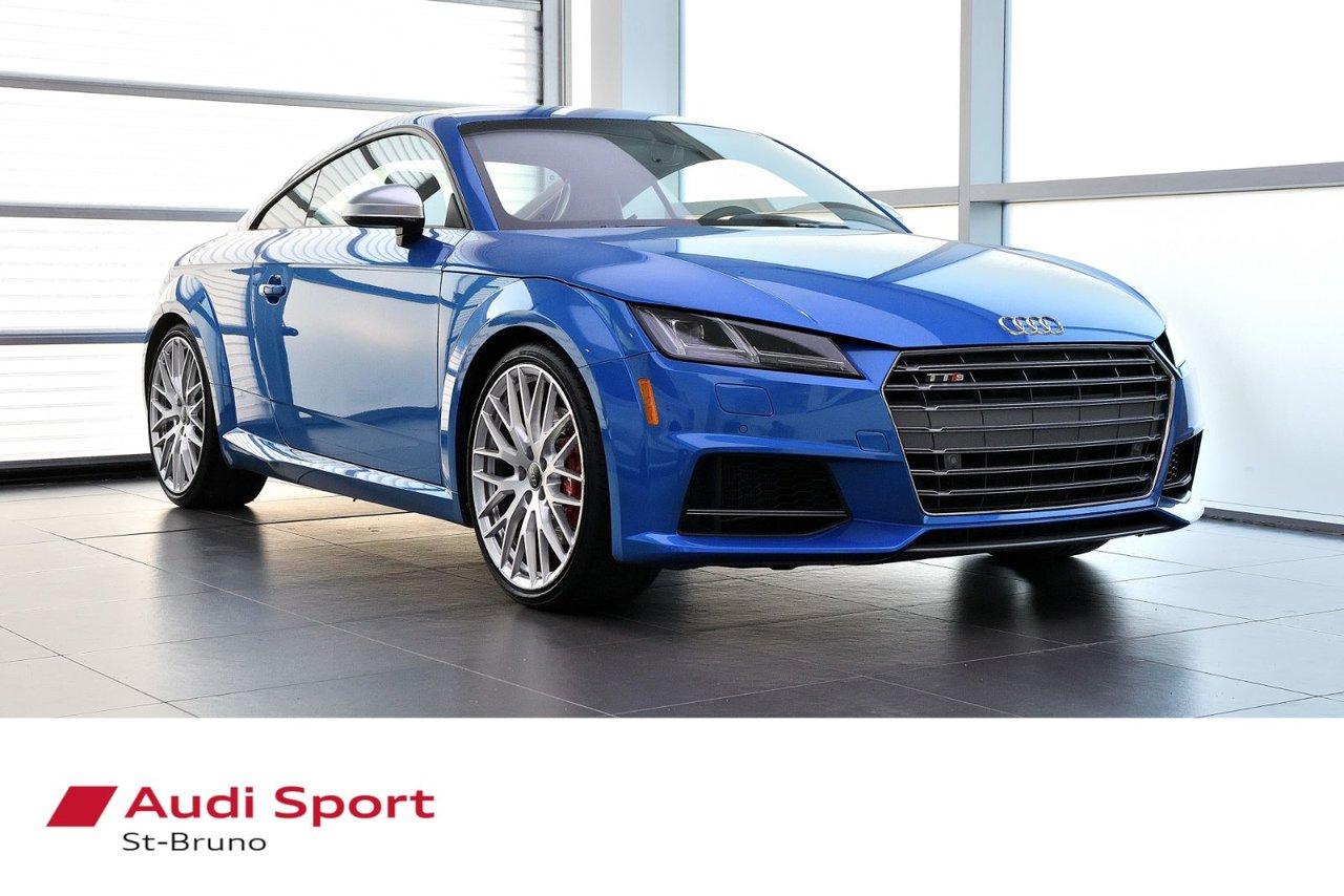 Audi TT 2017 NEUF = 70 845$ + LE MOINS CHÈRE + BAS KILO
