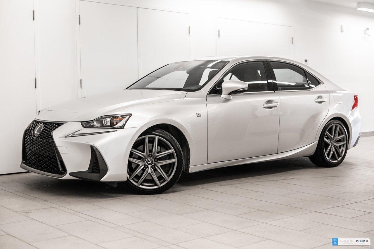 Lexus IS 2019 PNEUS HIVER GRATUIT * AWD * F-SPORT * CUIR *