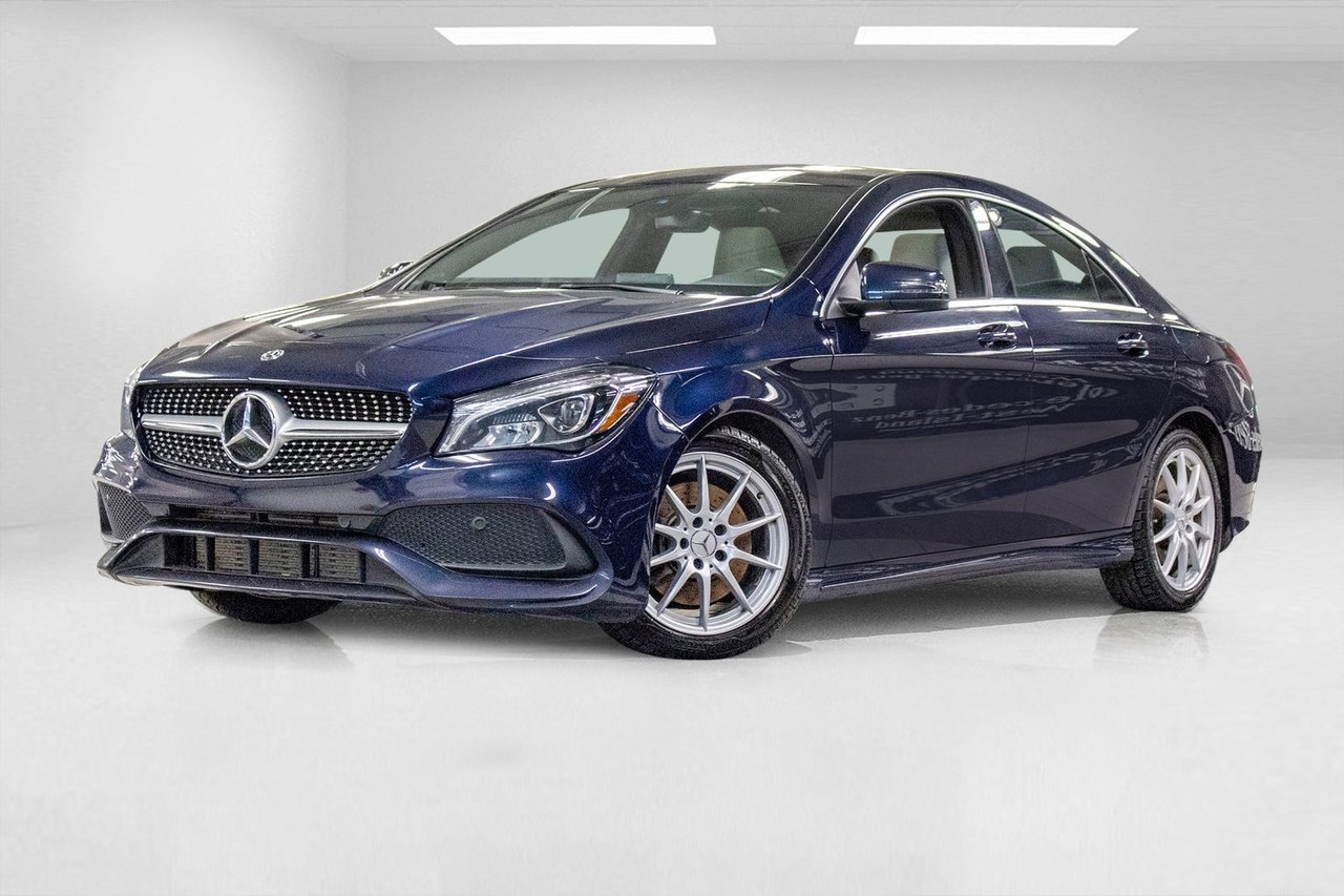 Mercedes-Benz CLA 2018 4MATIC Coupe