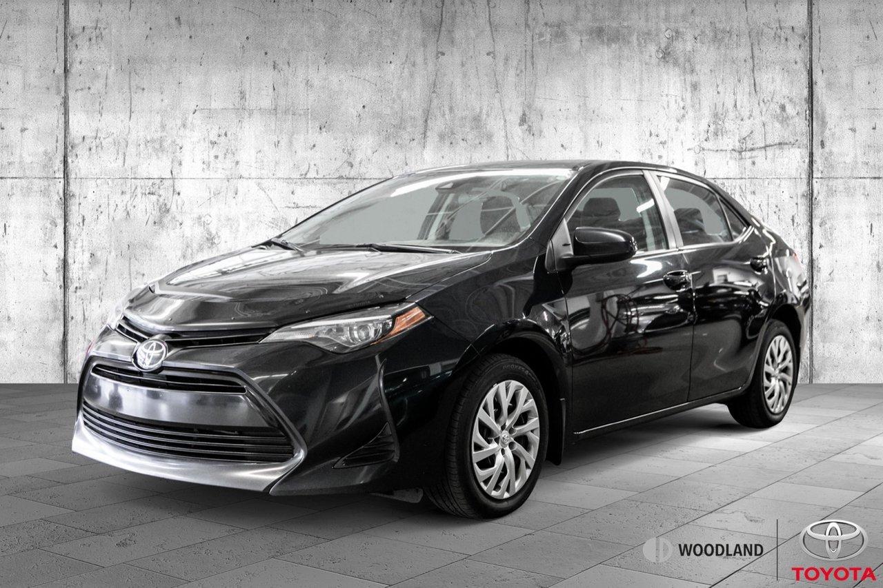 Toyota Corolla 2019 LE * Air climatisé * Caméra * Bluetooth * 945