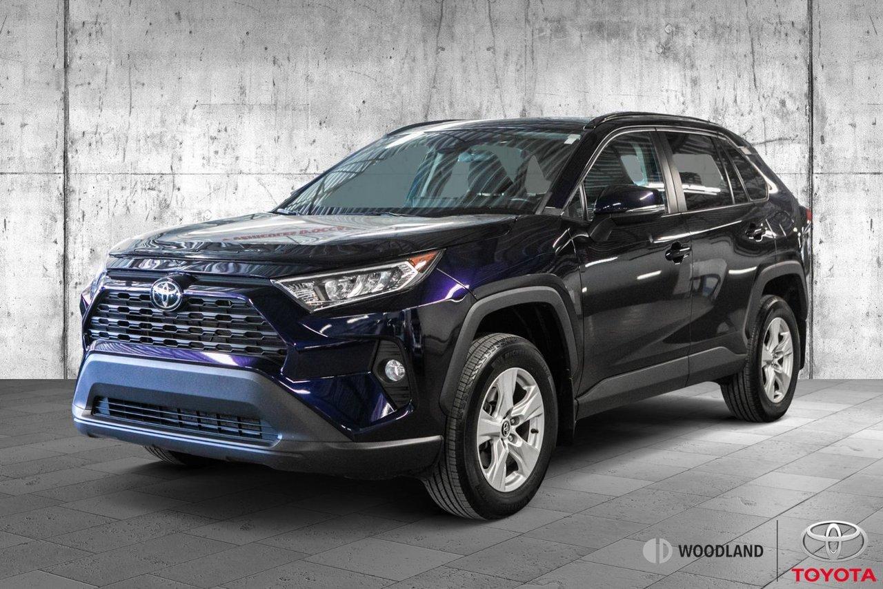 Toyota RAV4 2019 XLE * Fwd * Mags * Toit * Caméra * Air * Blue