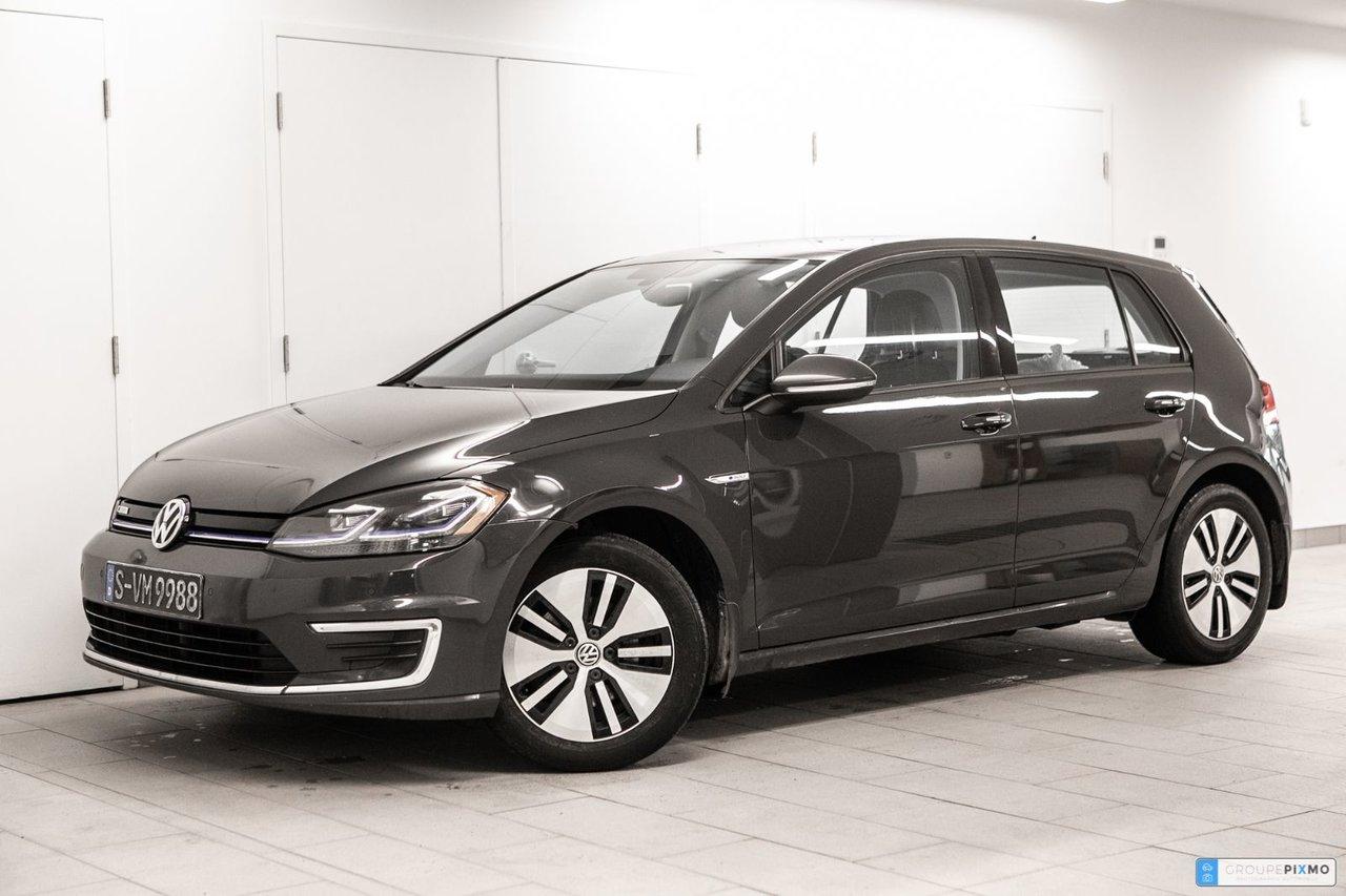 Volkswagen e-Golf 2019 CUIR * CAMÉRA RECUL * CERTIFIÉ VOLKSWAGEN *